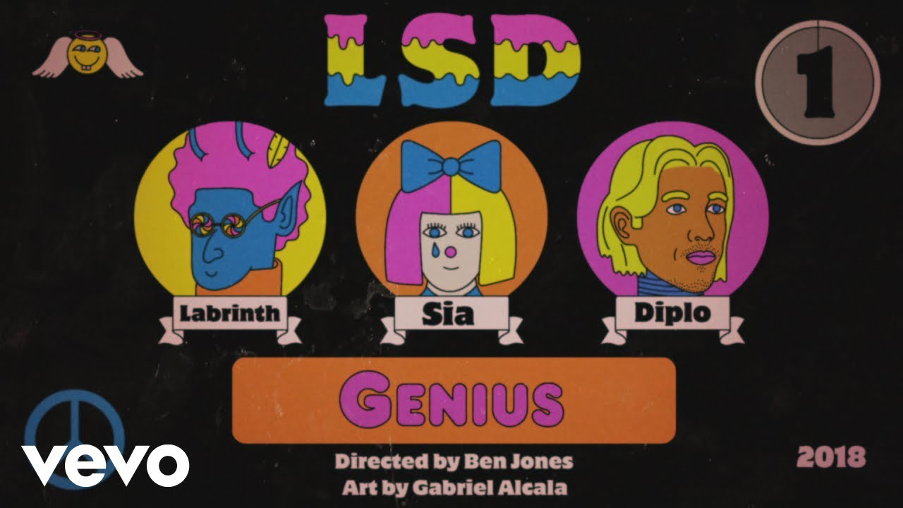 "image for article ""Genius"" - LSD (Labrinth, Sia, Diplo) [YouTube Music Video]"