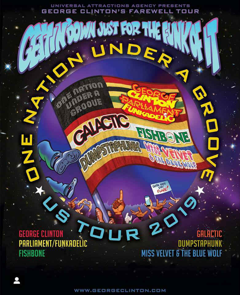 image for article George Clinton and Parliament Funkadelic Set 2019  Tour Dates: Ticket Presale Code & On-Sale Info