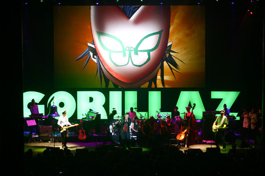 image for artist Gorillaz