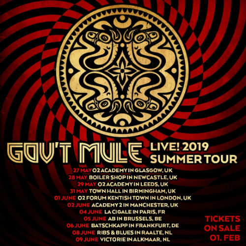 image for article Gov't Mule Plan 2019 Tour Dates: Ticket Presale & On-Sale Info