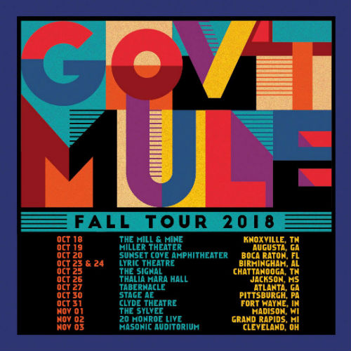 image for article Gov't Mule Extends 2018 Tour Dates: Ticket Presale Code & On-Sale Info