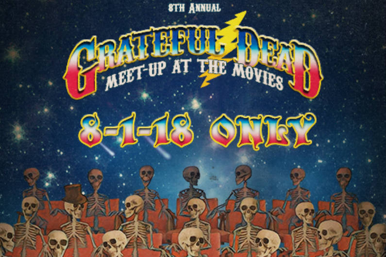 "image for article Grateful Dead Preview 2018 Meet-Up at the Movies with ""Ramble On Rose"" from Philly, 1989"