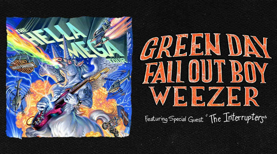 Green Day Tour 2020.Green Day Fall Out Boy And Weezer Plan 2020 Tour Dates