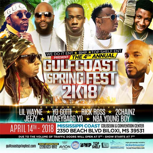 image for event Gulf Coast Spring Fest