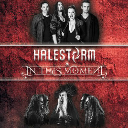 image for article Halestorm and In This Moment Add 2018 Tour Dates: Ticket Presale Code & On-Sale Info