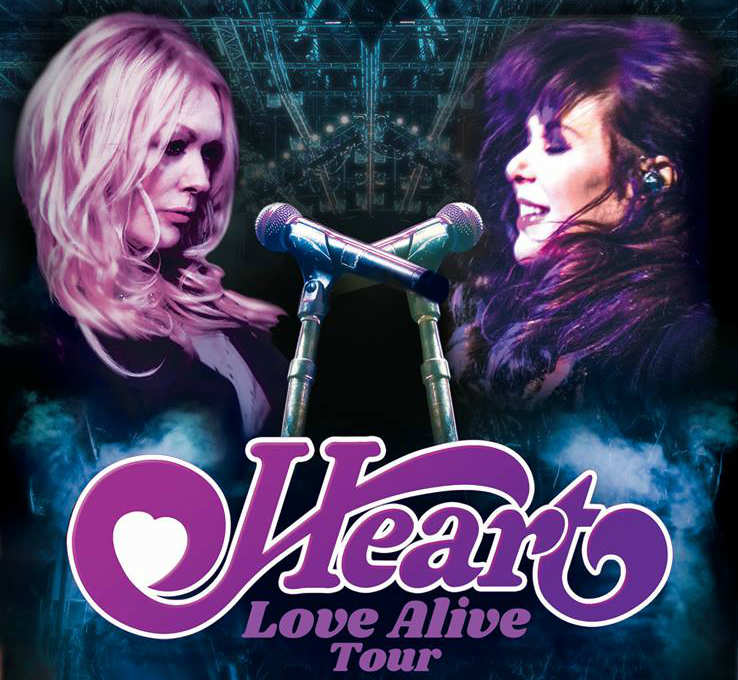 image for article Heart Shares 2019 Tour Dates: Ticket Presale Code & On-Sale Info
