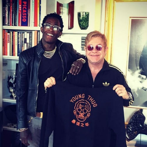 "image for article ""High"" - Young Thug ft Elton John (Prod. Stelios Phili) [YouTube Audio Single]"