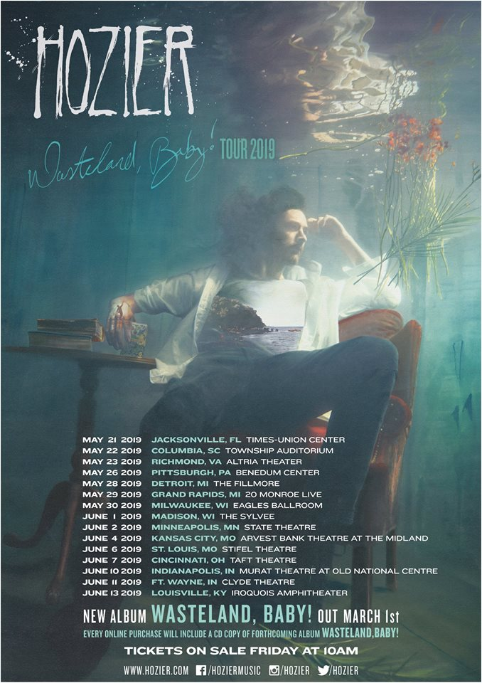 image for article Hozier Adds 2018 Tour Dates: Ticket Presale & On-Sale Info