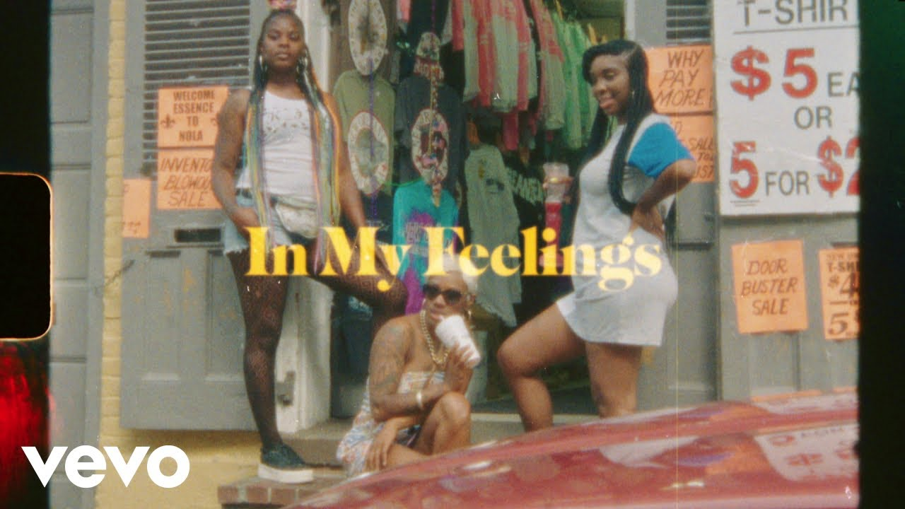 "image for article ""In My Feelings"" - Drake [YouTube Music Video]"