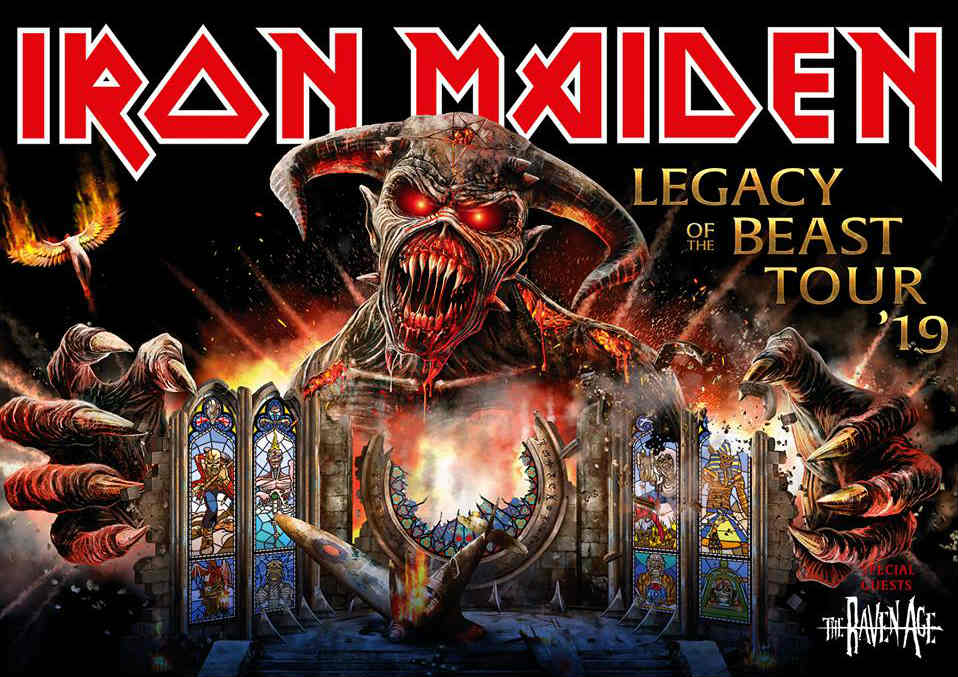 image for article Iron Maiden Set 2019 Tour Dates: Ticket Presale Code & On-Sale Info
