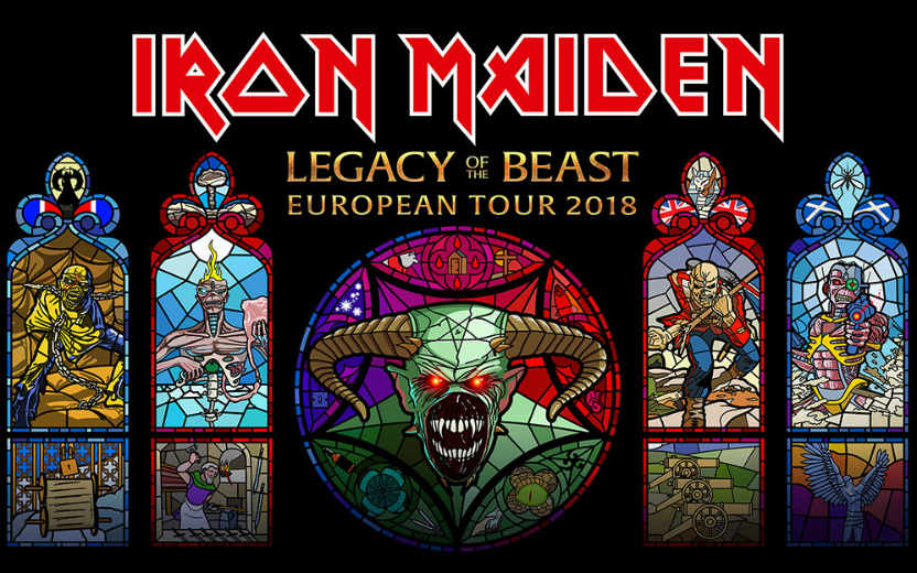 image for article Iron Maiden Share 2018 'Legacy of the Beast European Tour' Dates: Ticket Presale & On-Sale Info