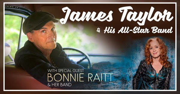 image for article James Taylor & Bonnie Raitt Add 2018-2019 Tour Dates: Ticket Presale & On-Sale Info