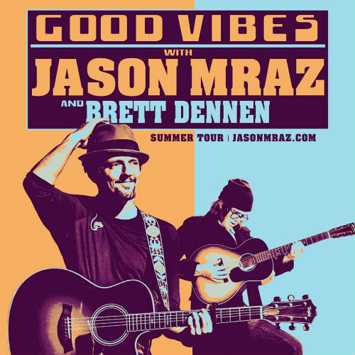 image for article Jason Mraz Plans 2018 Tour Dates with Brett Dennen: Ticket Presale Code & On-Sale Info