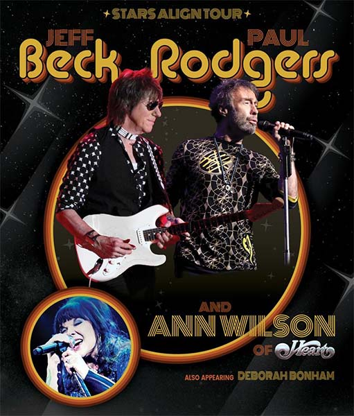 image for event Jeff Beck, Paul Rodgers, and Ann Wilson