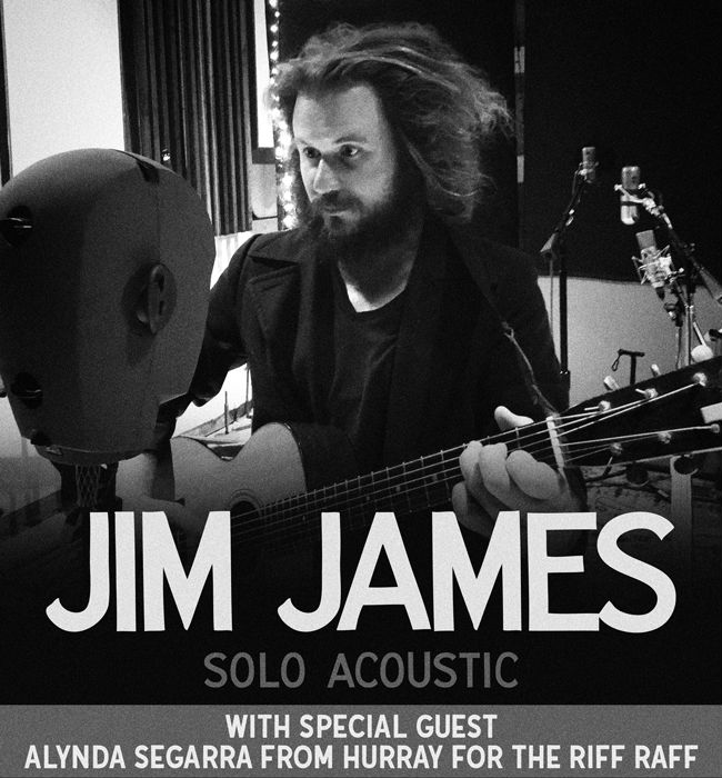 image for article Jim James and Alynda Segarra Plan 2018 Tour Dates: Ticket Presale Code & On-Sale Info