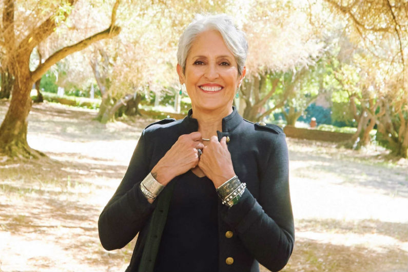 image for article Joan Baez Adds 2018-2019 Tour Dates: Ticket Presale Code & On-Sale Info