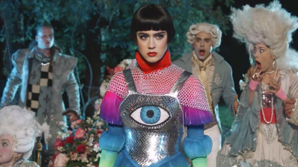 Katy Perry reveals new music video for