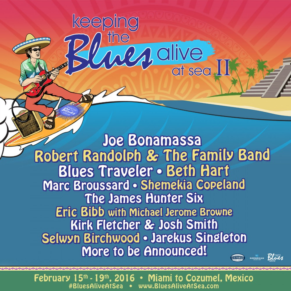 image for event Keeping The Blues Alive Cruise