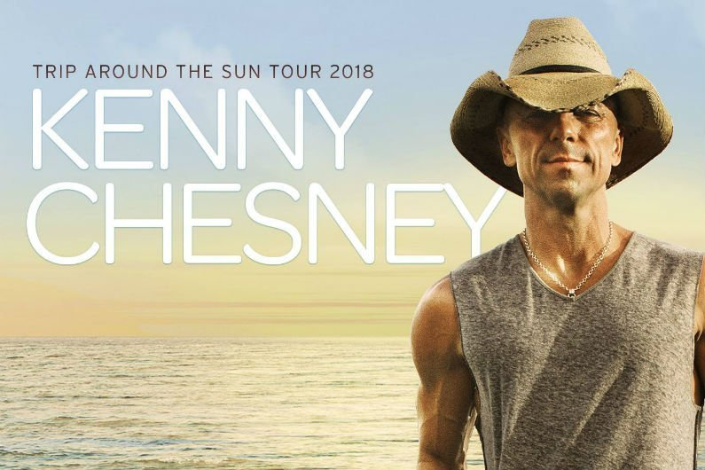 image for article Kenny Chesney Plans 2018 'Trip Around The Sun Tour' Dates: Ticket Presale Code & On-Sale Info