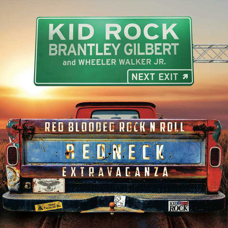 image for event Kid Rock, Brantley Gilbert, and Wheeler Walker Jr.