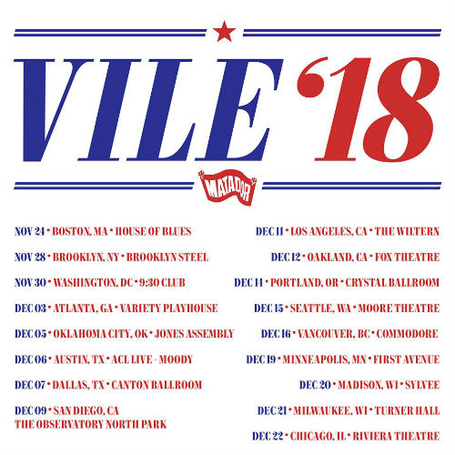 image for article Kurt Vile Sets 2018 Tour Dates: Ticket Presale Code & On-Sale Info