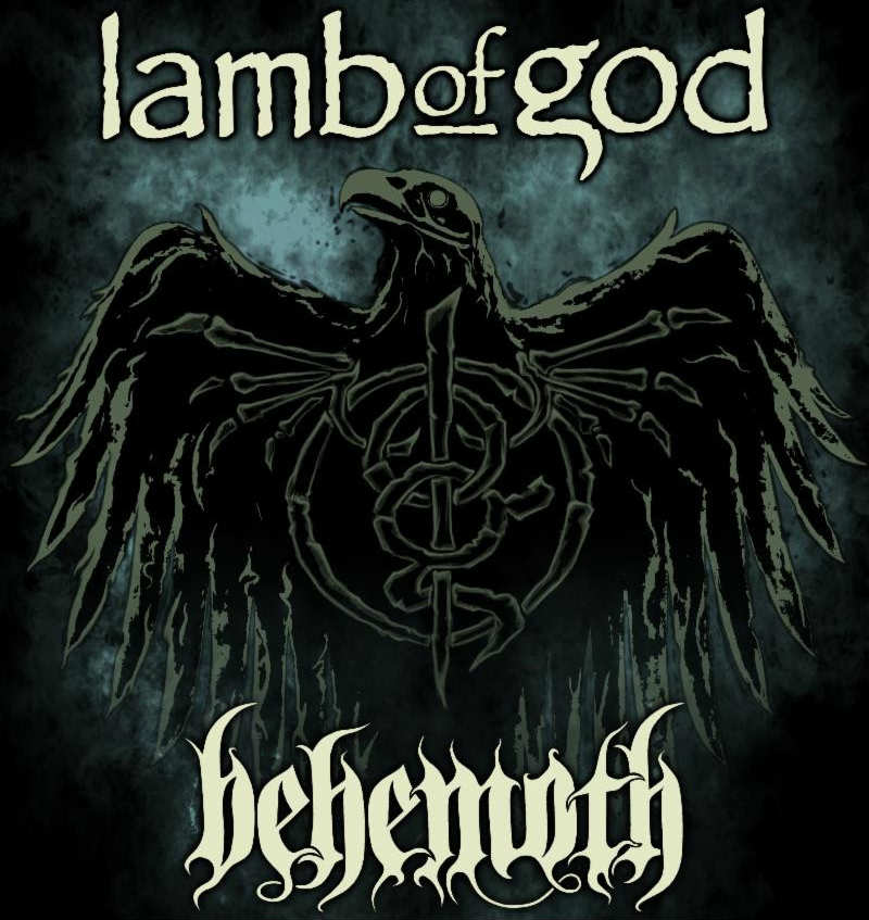image for event Lamb of God and Behemoth