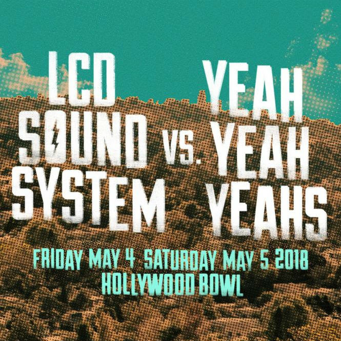 image for event LCD Soundsystem and Yeah Yeah Yeahs