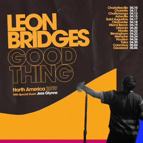 image for article Leon Bridges Adds 2018-2019 Tour Dates: Tickets Presale Code & On-Sale Info