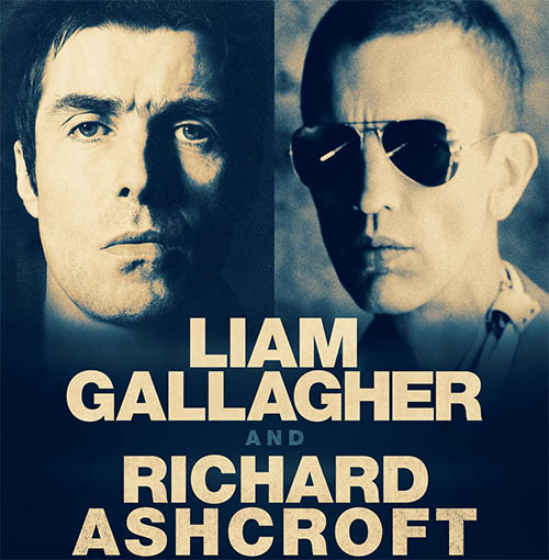 image for event Liam Gallagher and Richard Ashcroft