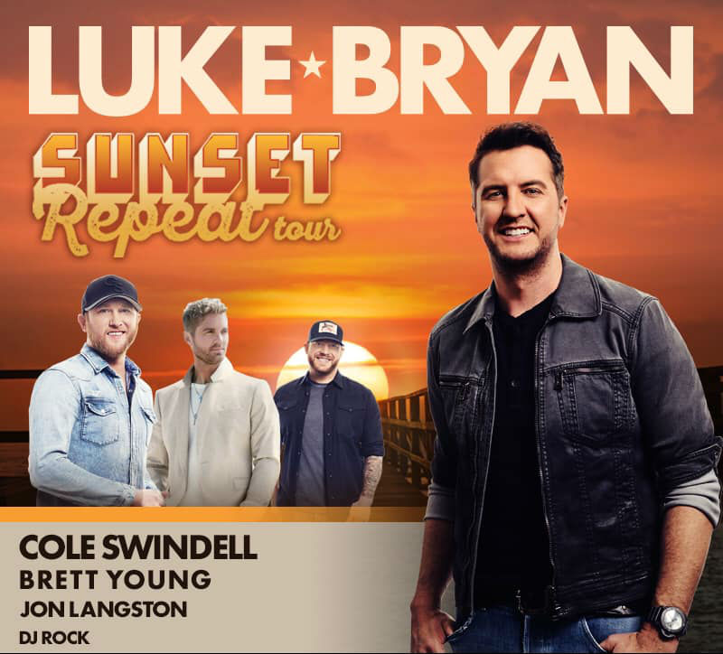 3b45acf540 Luke Bryan Sets 2019 Tour Dates: Ticket Presale Code & On-Sale Info ...