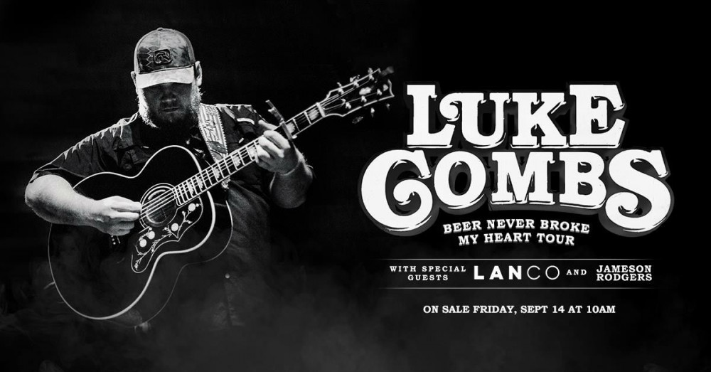 image for article Luke Combs Sets 2019 Tour Dates: Ticket Presale Code & On-Sale Info