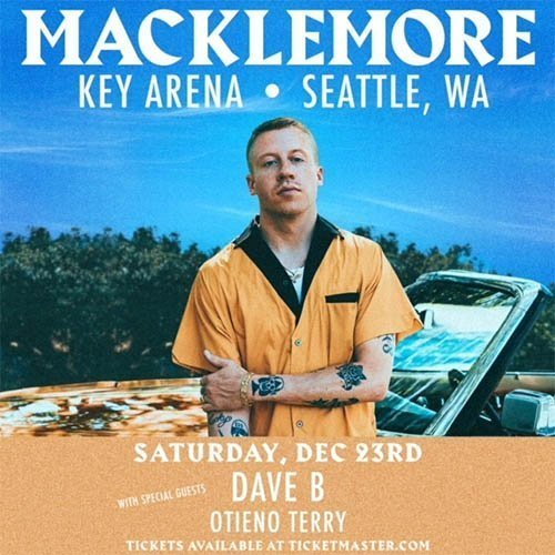 image for event Macklemore, Dave B, and Otieno Terry