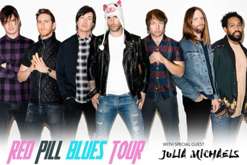 image for article Maroon 5 Plots 2018 'Red Pill Blues Tour' Dates For North America: Ticket Presale Code & On-Sale Info