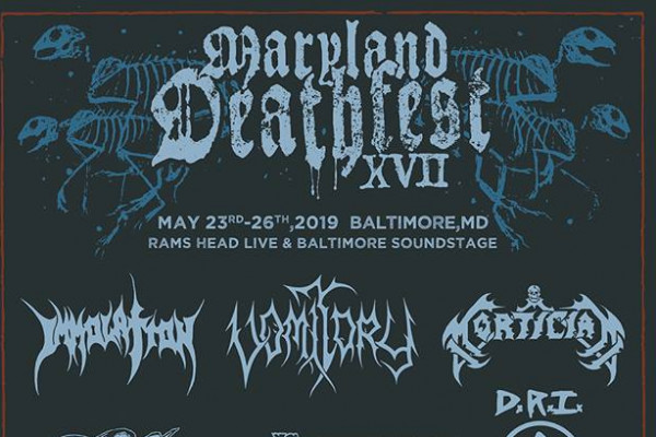 image for event Maryland Deathfest 2019