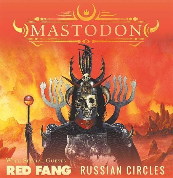 image for event Mastodon, Red Fang, and Russian Circles
