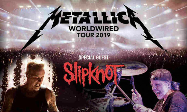 Metallica Tour 2020 Usa.Metallica And Slipknot Team Up For 2019 Tour Dates Ticket