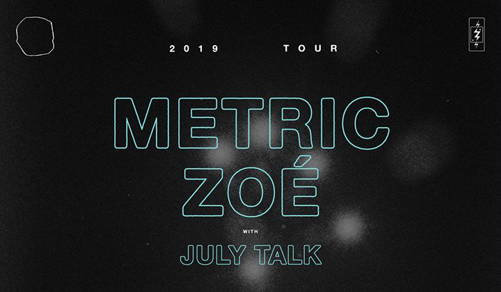image for article Metric Plots 2019 Tour Dates: Ticket Presale Code & On-Sale Info