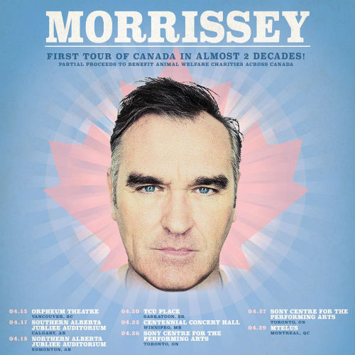 image for article Morrissey Plots 2019 Tour Dates: Ticket Presale Code & On-Sale Info