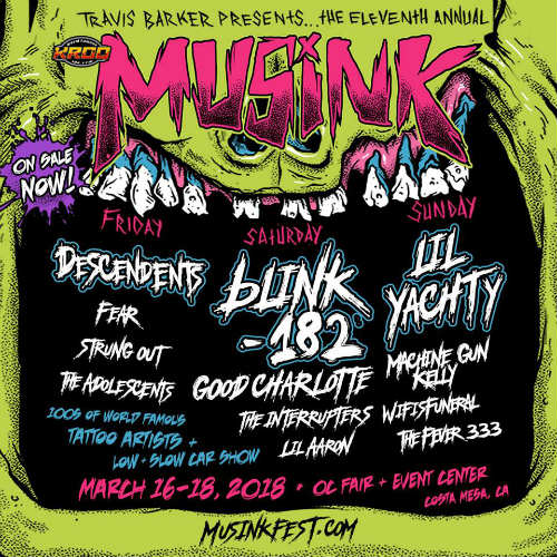 image for event Musink Tattoo and Music Festival