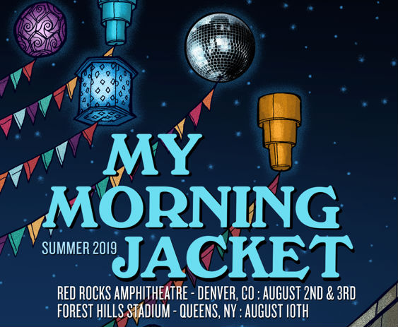 My Morning Jacket At Red Rocks Amphitheatre On 3 Aug 2019 Ticket