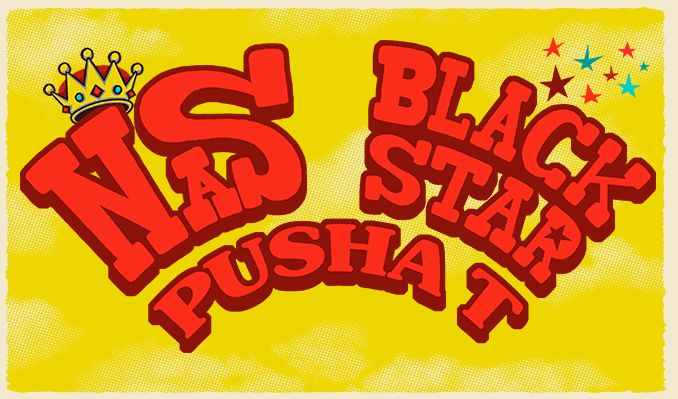 image for event Black Star, Brother Ali, Nas, and Pusha T