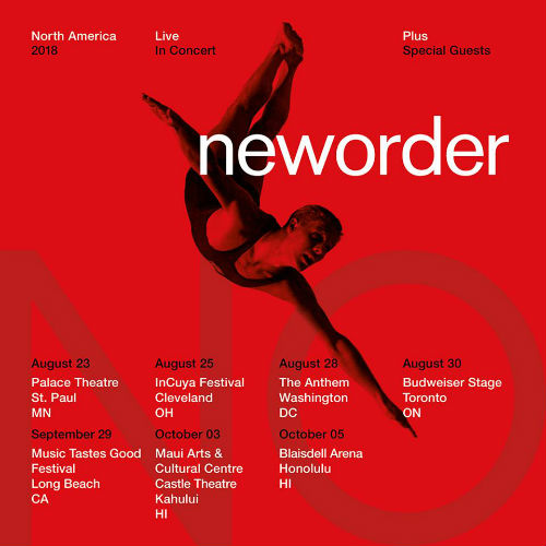 image for article New Order Adds 2018 Tour Dates: Ticket Presale & On-Sale Info