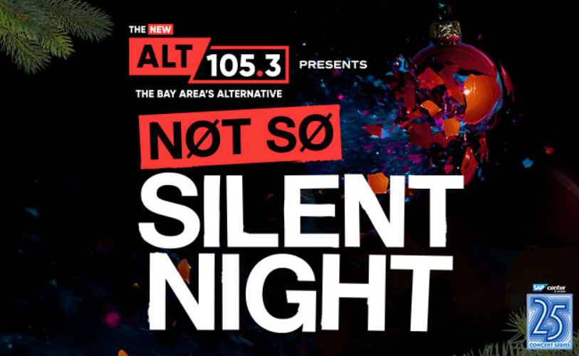 image for event Not So Silent Night: Florence + the Machine, Death Cab for Cutie, Bastille, Young The Giant, CHVRCHES, The Struts, and Elle King