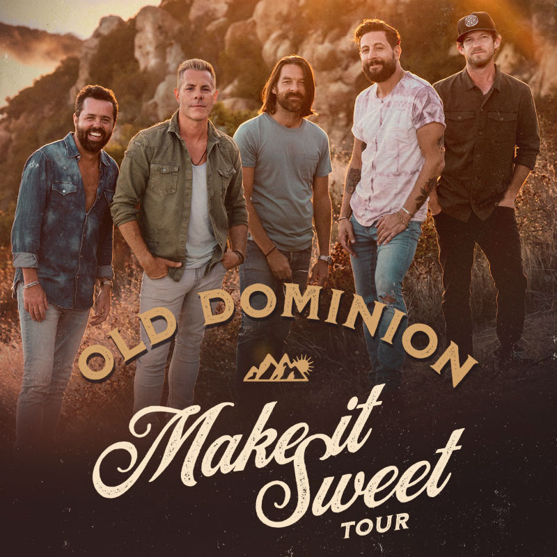 image for article Old Dominion Extends 2018-2019 Tour Dates: Ticket Presale Code and On-Sale Info