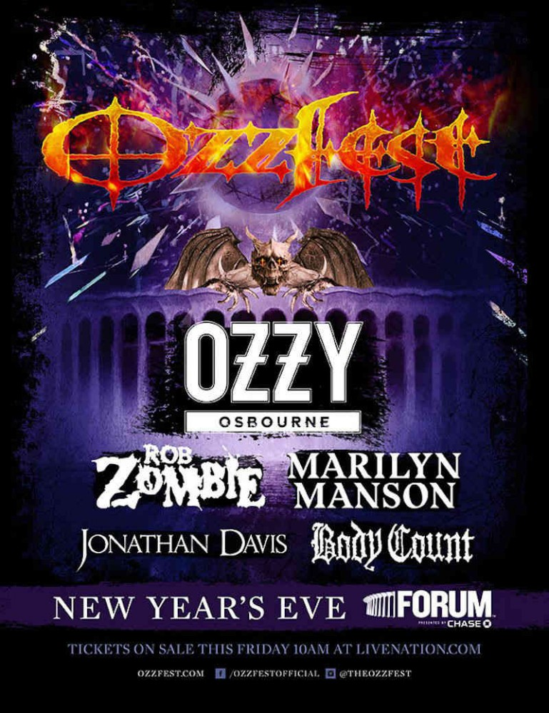 image for event Ozzfest 2018