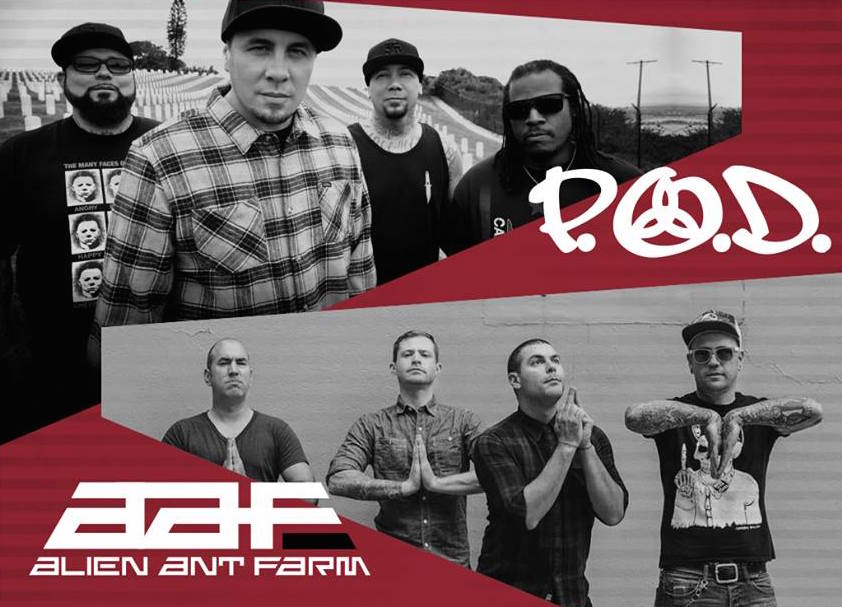image for event P.O.D. and Alien Ant Farm
