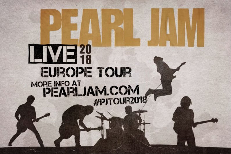 pearl jam reveals 2018 european tour dates ticket presale