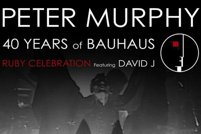 "image for article ""40 Years Of Bauhaus"" Tour Dates Set with Peter Murphy and David J: Ticket On-Sale Info"