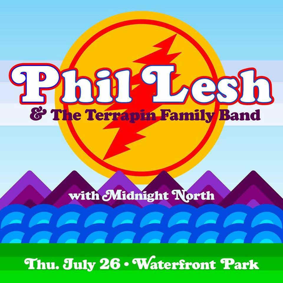 image for event Phil Lesh and The Terrapin Family Band and Midnight North