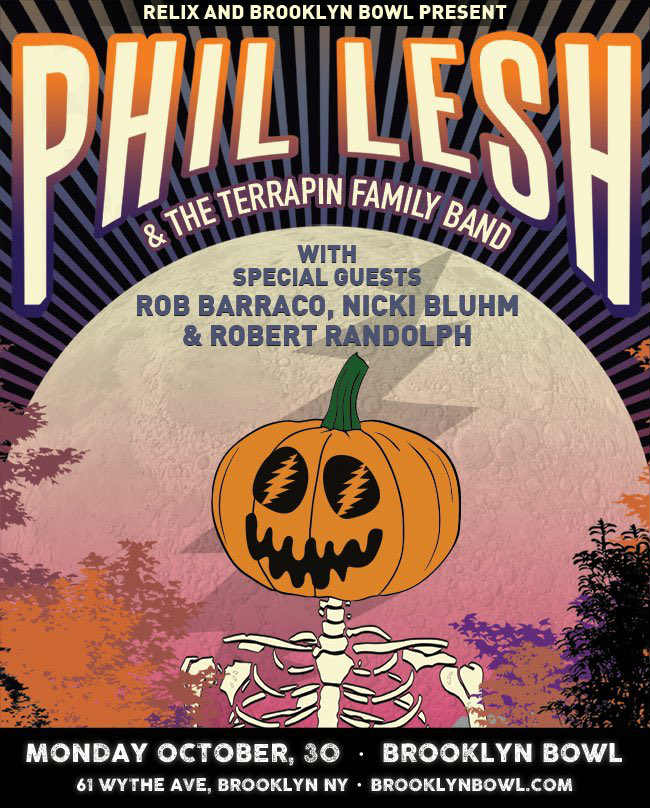image for event Phil Lesh & The Terrapin Family Band, Rob Barraco and Dark Star Orchestra